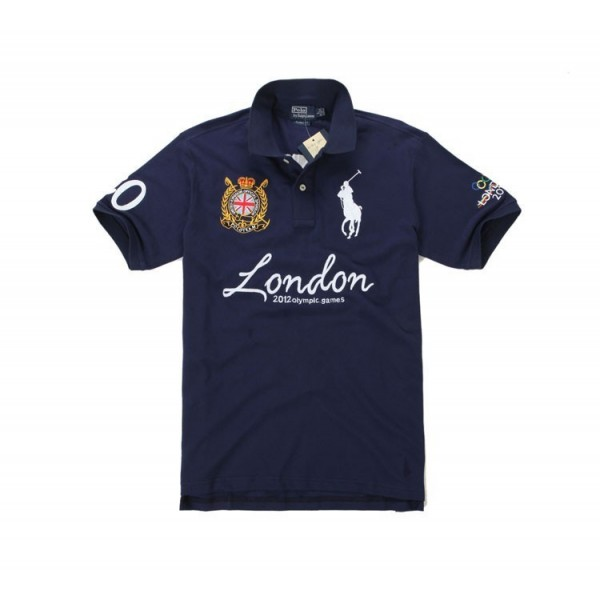 Style Ralph Lauren,1034 Classic-Fit 2011 Big Pony Polo In New blue