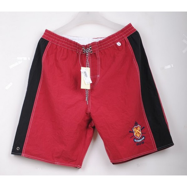 Ralph Lauren Double Black,Prl rowing club polo shorts in red black
