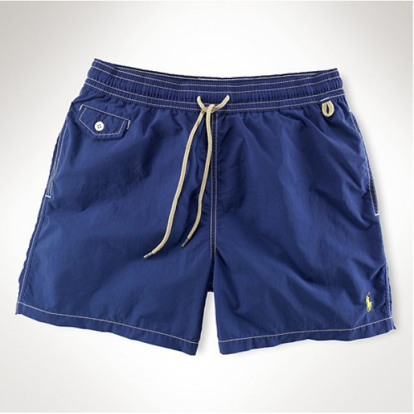 Ralph Lauren USA Factory Outlet,Small pony shorts in blue