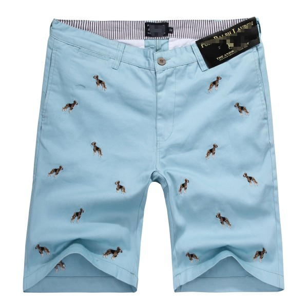Ralph Lauren USA Free Shipping,shorts embroidered small dog cotton casual pants