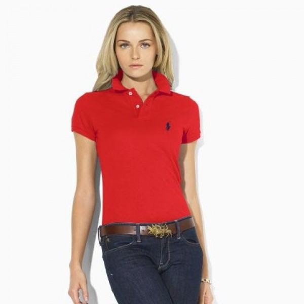Ralph Lauren Coupon Codes,Womens polo Classic-Fit Pony Polo Red