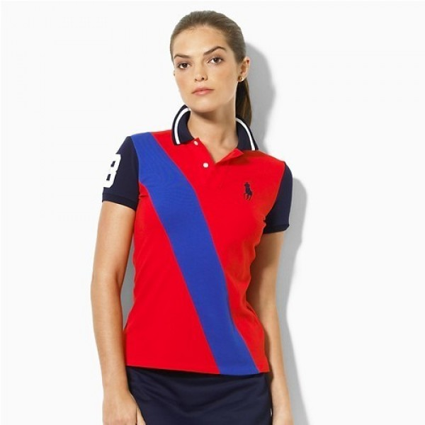 Ralph Lauren For Sale,1060 Madison Stretch Mesh Sash Polo In Red