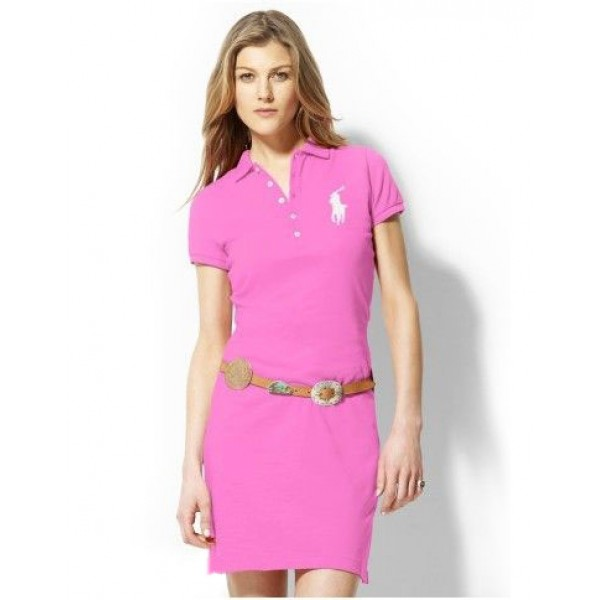 Ralph Lauren Outlet Store Sale,Polo Dress Rosy For women