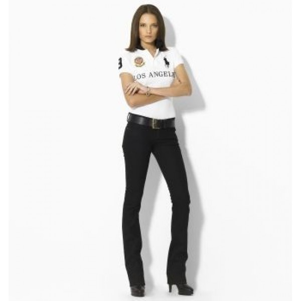 Ralph Lauren USA Sale Online Store,Womens Skinny-Fit City Polo Los Angeles