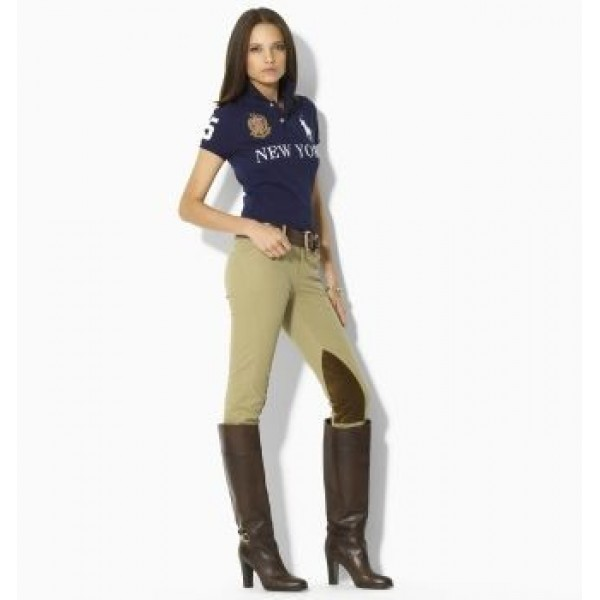 UK Ralph Lauren Outlet,Womens Skinny-Fit City Polo New York